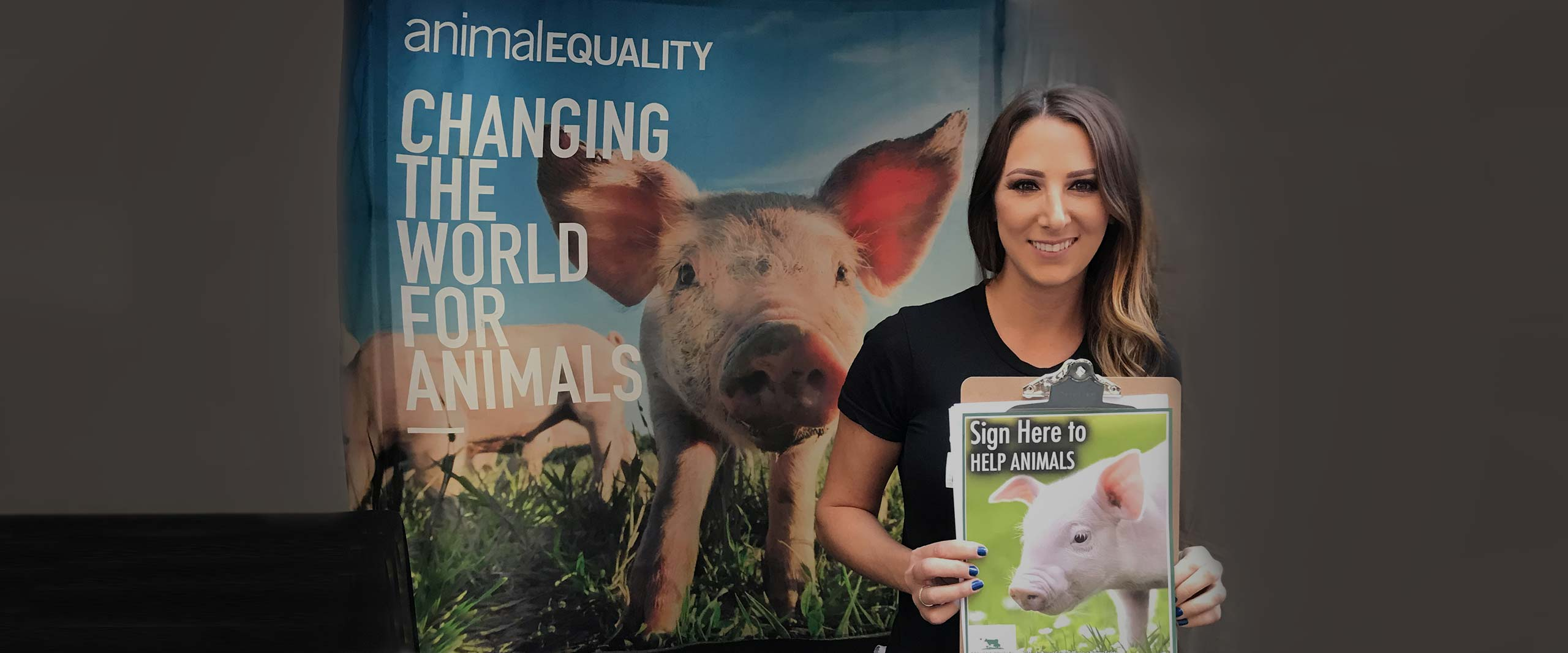 Californians at Work to Protect Farmed Animals | Animal Equality