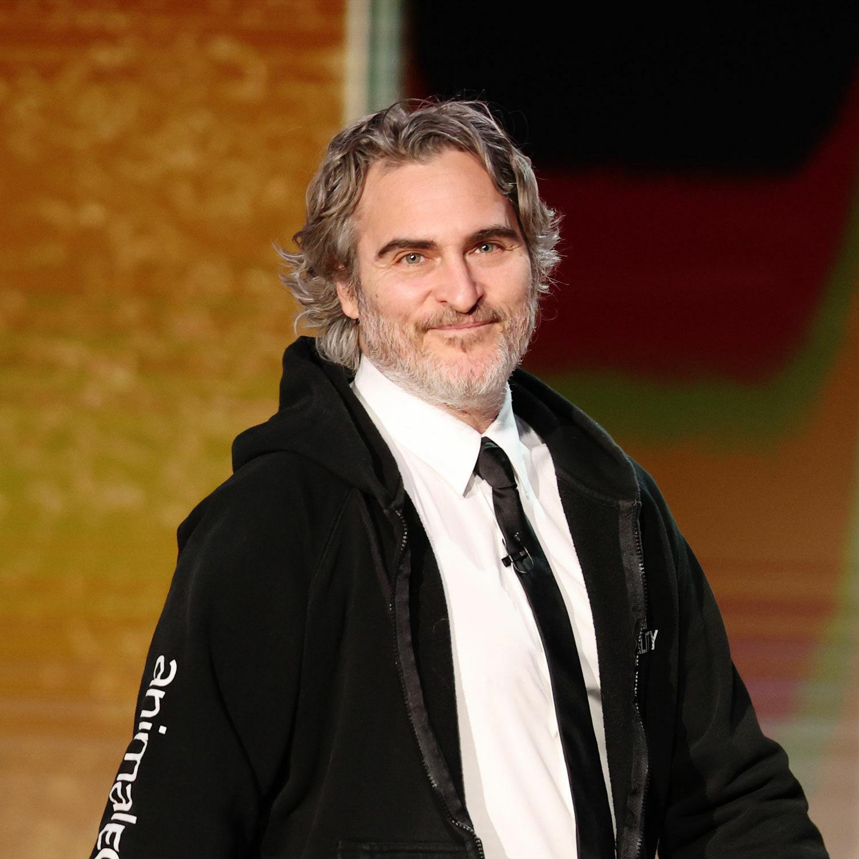 Joaquin Phoenix at 2021 Golden Globes